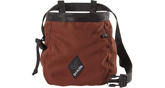 Prana Chalk Bag with Belt Dark Umber